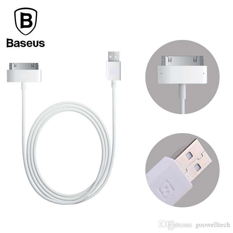 638c862237d Adaptador De Celular A Tv Baseus Original 1.2M 30Pin Cable USB Para Cable  De Datos Del Cable Del Cargador De Apple Para IPhone 4 4s 3GS 3G IPad 1 2 3  Cable ...