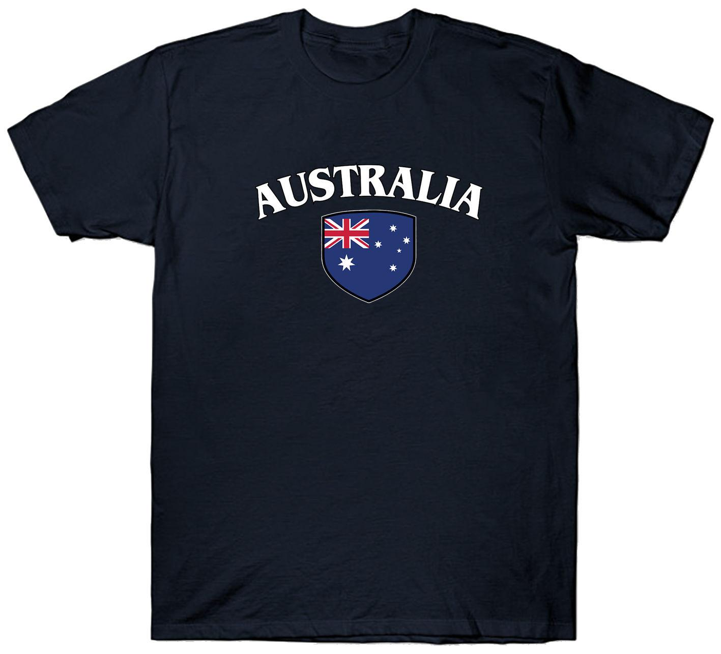 177ad16b6 AUSTRALIA FLAG T SHIRT OZ BACKPACKING AUSTRALIAN Online Buy T Shirt Best T  Shirt Shop Online From Hongkonglady, $22.58| DHgate.Com