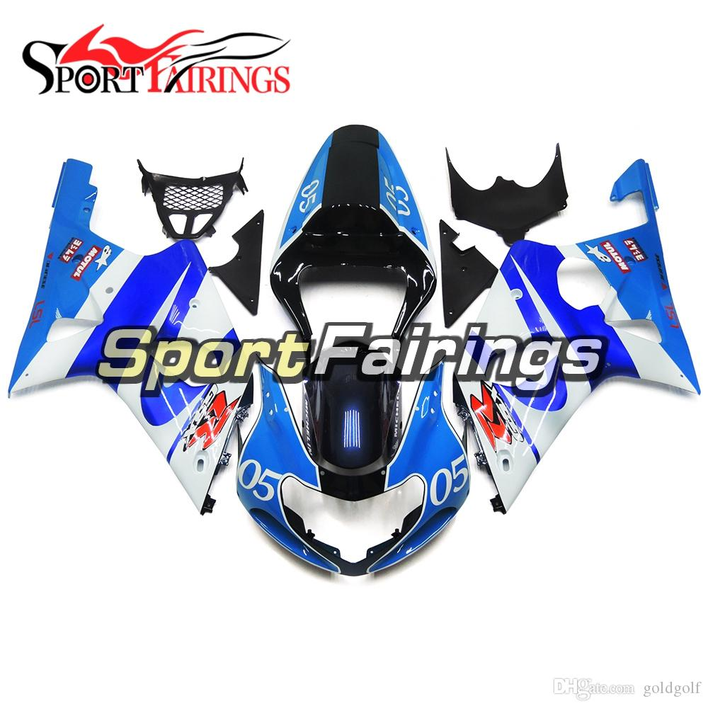 ABS Plastics Complete Fairings For Suzuki GSXR1000 GSX-R1000 K1 K2 2000 2001 2002 Sportbike Motorcycle Body Kit Blue Black Covers Free Gifts