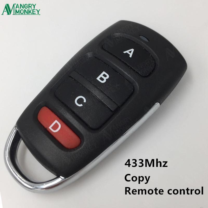 433.92 MHz wireless Copy Remote Control With Battery Garage Door Remote Control Backup Key Clone 1527 PT2264 HT600 etc