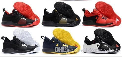 fecc508f8ed 2019 2018 High Quality Paul George 2 PG II Basketball Shoes For ...
