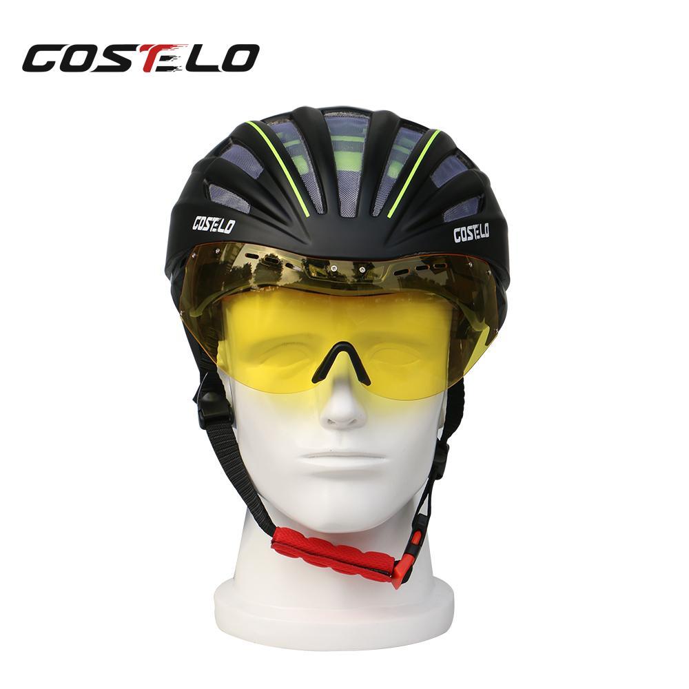 956426952 Compre Costelo Capacete De Ciclismo Lenes MTB Mountain Road Capacete De  Bicicleta Lenes Bicicleta Velocidade Airo RS Ciclismo Óculos De Bicicleta  De Cookki
