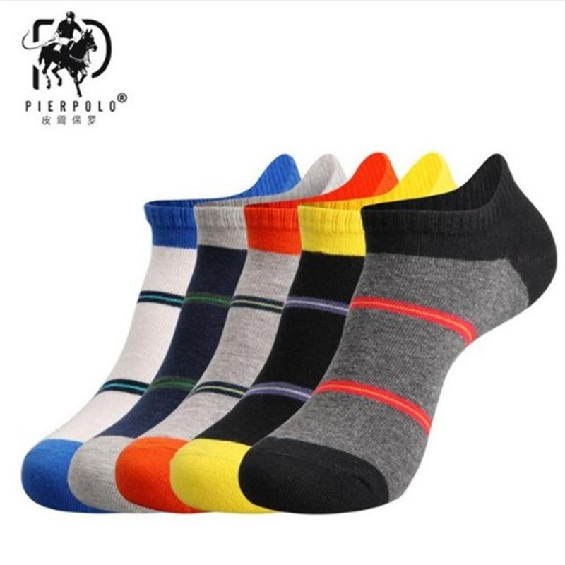 Underwear & Sleepwears 5pair Men Socks Cotton Casual Breathable 5 Colors Ankle Socks Short Mesh Short Boat Socks Men Cute Kawaii Harajuku Socks Happy Online Discount