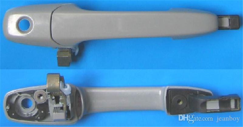 Exterior Exterior Puxador Dianteiro ou Traseiro Esquerdo Primer direito para Mazda 3 2003-2008 6 2002-2005 CX7 07-09 RX8 03-09 GJ6A / GV2A-58/59/72 / 73-410