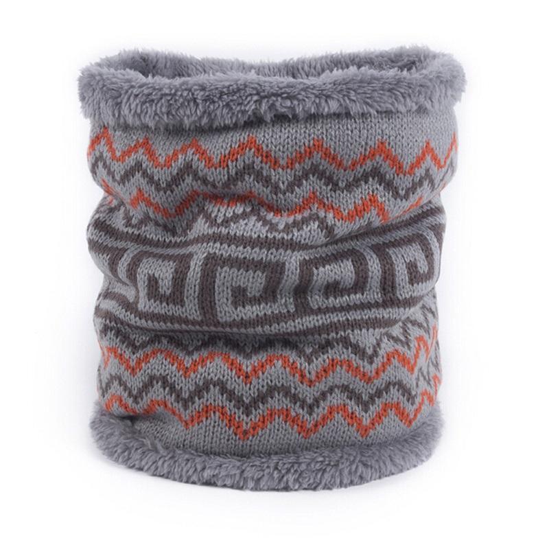 купить оптом зима новый вязаный шарф печатных воротник теплый один