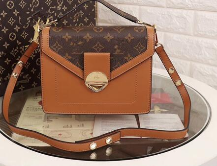 5390445867f1 Female 2018 New British Style Casual Leather Contrast Colour One ...