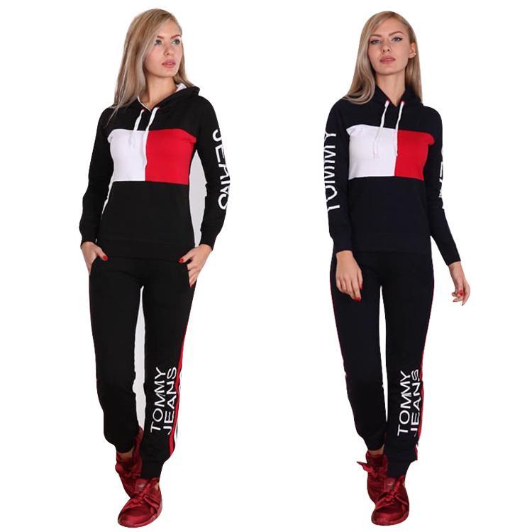 2a9265d8bbdc Acheter Marque Femmes Sexy Survêtements Pour Femmes Hauts Pantalons Femmes  Deux Pièces Ensemble Sportwear Femme Robes Sport De  25.93 Du Yy38