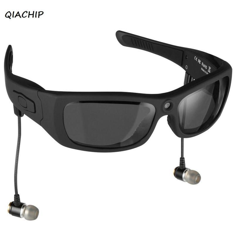 e1a21d5de51 QIACHIP Eyewear Sunglasses Mini Camera Support TF Card Video Recorder DVR  MP3 Camcorder Music Glasses With Bluetooth Headset H3 Good Cameras  Underwater ...