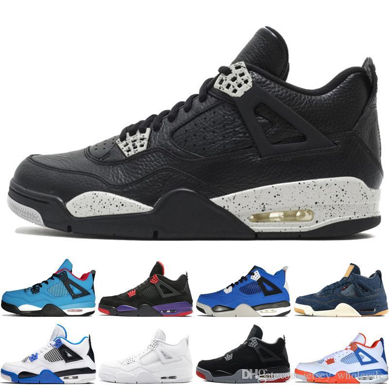 c5d0fedbfa0955 2018 4 4s Travis Scotts Cactus Jack Mens Basketball Shoes Raptors ...