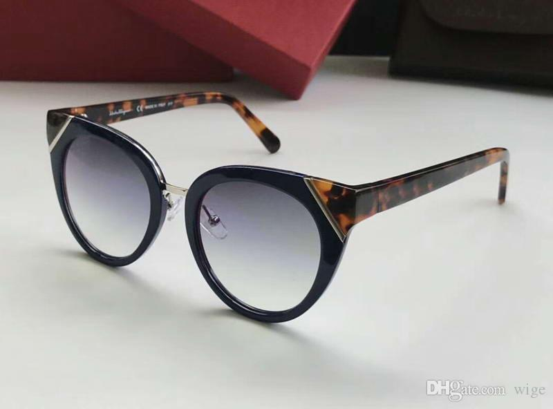 e8cfd8d591805 Women Cat Eye Sunglasses SF835S BLUE TORTOISE Petrol Round Frame Sunglasses  New with Box Women Sunglasses Men Sunglasses LAURENT Sunglasses Online with  ...