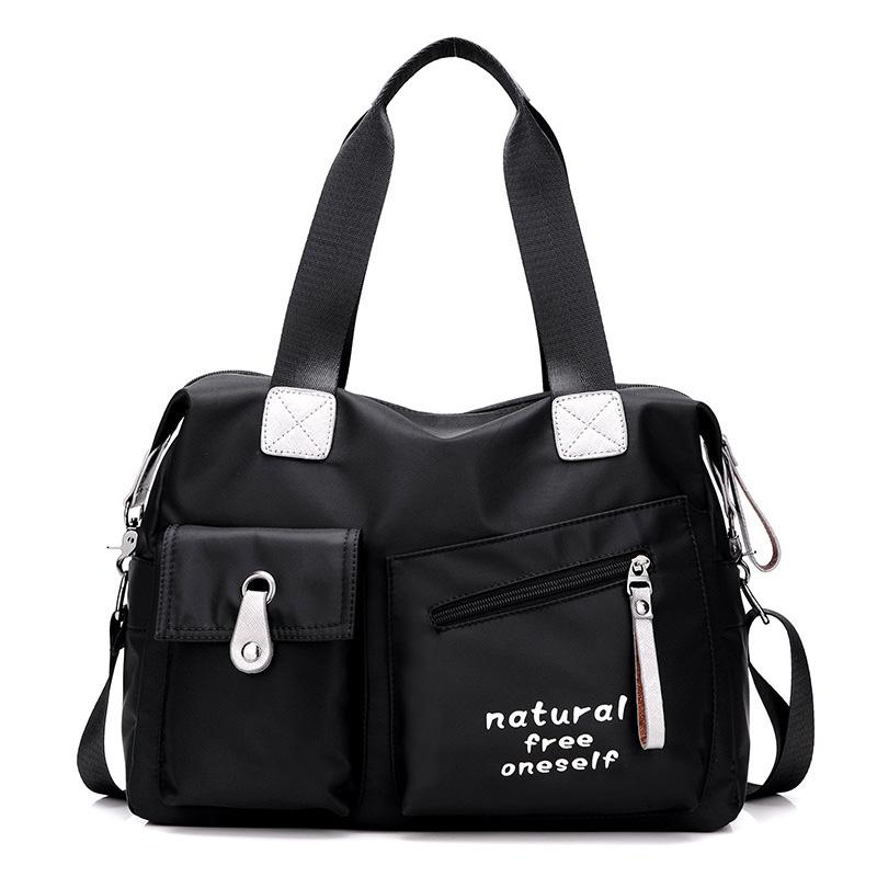 7c3203f964 New Handbags Japan Korea Women Large Capacity Totes Nylon Oxford Canvas Bag  Femal Travel Shoulder Portable Messenger Bags Toting Leather Backpack Purse  From ...