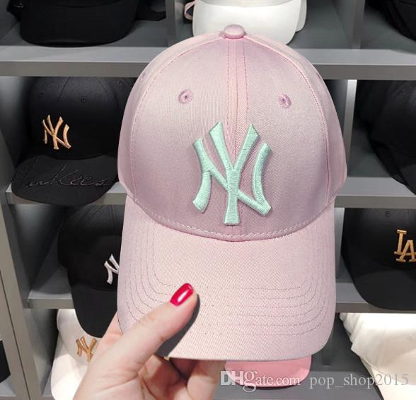 2018 New NY Baseball Caps Hiphop Men Women Adjustable kq Hats 3D embroidery  New York Snapback Chance Cap Headware