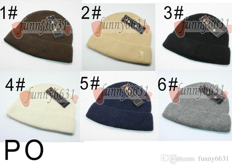 b8a18729133b4 Winter Christmas Hats For Women Men Brand Designer Fashion Beanies ...