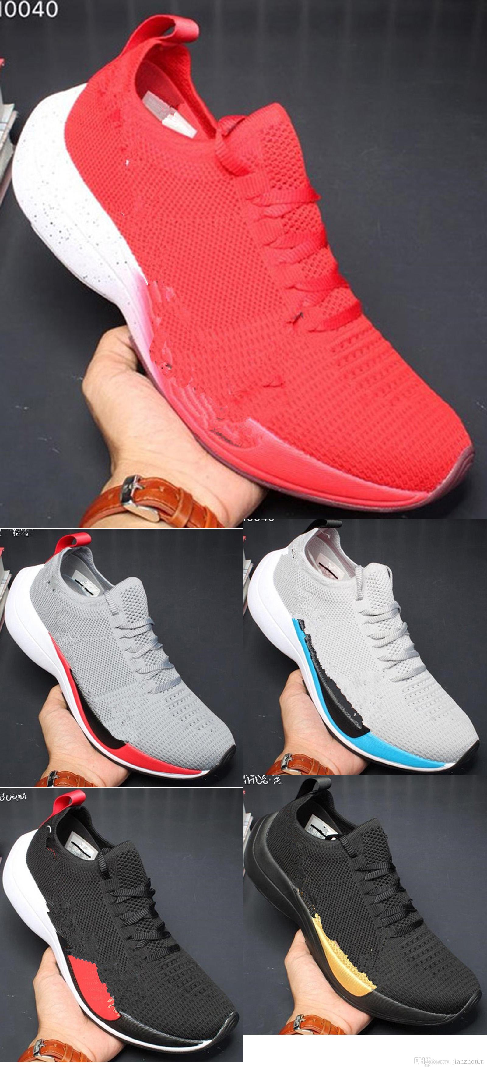 ad2128ab0e42 ... sale top zoom vaporfly elite running shoes blue black pink white men  women lightweight jogging sports