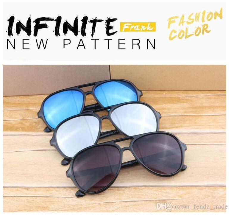 NEW HOT GOOD High Quality Metal Hinge Sunglasses men Women Summer Designer UV400 glass lens Plank frame Sun glasses MOQ=10pcs Factory Price