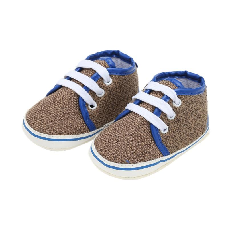 167f340ec429 2019 Autumn Toddler Baby Prewalker Shoes Newborn Baby Girl Linen Stitching  Solid Shoes Boy Rubber Bottom First Walker From Friendhi