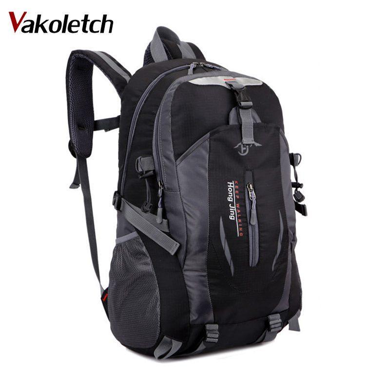 8d6cde77211 2018 Fashion School Bag Waterproof Nylon Men Backpack Bag Women ...