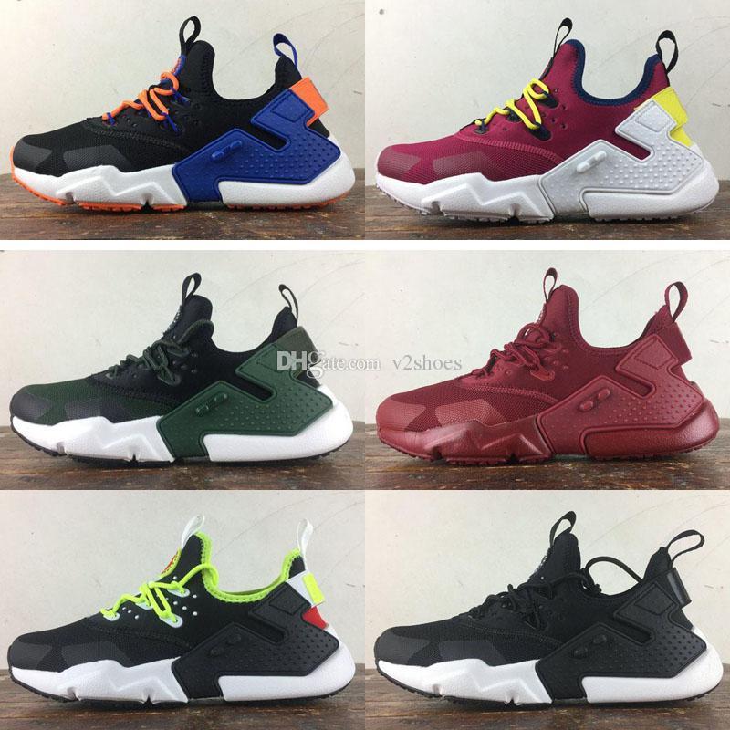 new product a03ff 00619 Air Huarache Drift 2018 Newest Huaraches Ultra Breathe Hurache 6 Running  Shoes Men Women Huraches Sports Sneakers Size 36 45 Top Running Shoes  Running Shoes ...