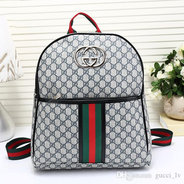 cadd506221 2018 New Arrival Hot Fashion Men Women School Bags Hot Punk Style Men  Backpack Designer Backpack Pu Leather Lady Bags Mochilas Jansport School  Backpacks ...