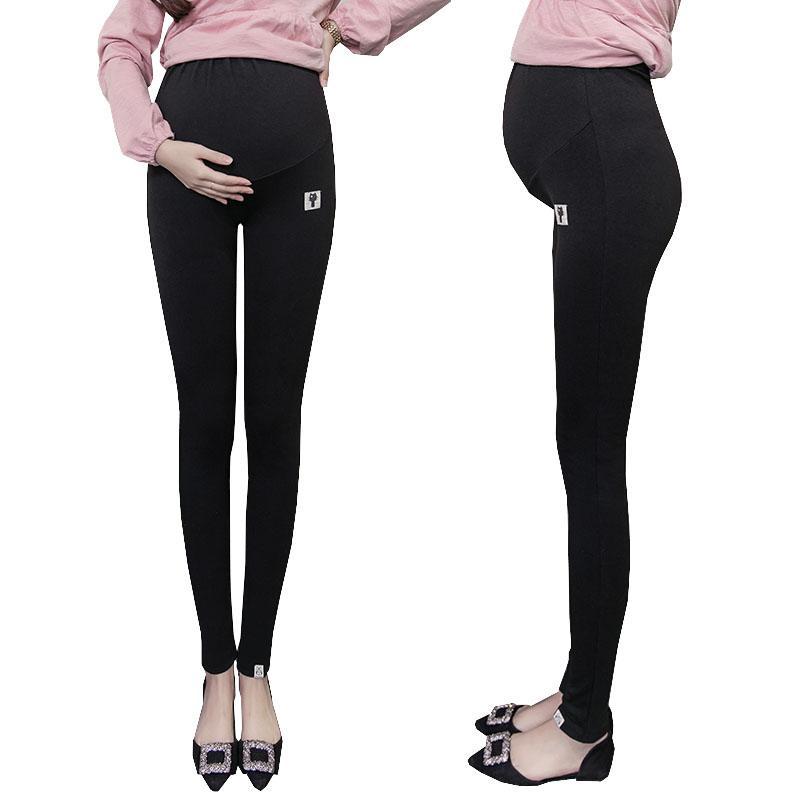 a00062019 Compre Más El Tamaño De Terciopelo De Invierno Embarazo Polainas Pantalones  Para Mujeres Embarazadas Maternidad Polainas Ropa Abrigadora Engrosamiento  ...