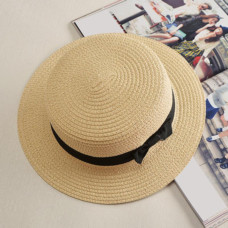 Summer Style Child Sun Hat Beach Sunhat Fedora Hat Trilby Straw Boy Girl  Gangster Cap Fit For Kids Children Women Men Wholesale Hats Easter Hats  From ... 638f4ab3a255