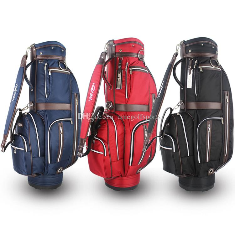 Light Golf Bag High Quality Nylon Golf Cart Bag Black Red Navy Golf ... 8ecc3fdbb703
