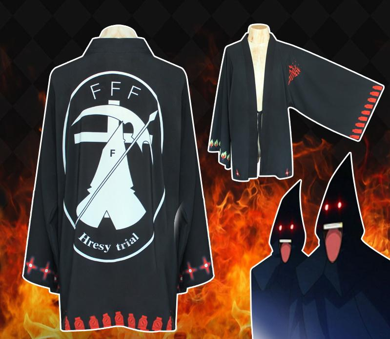 Anime Fate Stay Night Cloaks Coat Cosplay Costume Hoodie Cape Shawl Clothes Gift