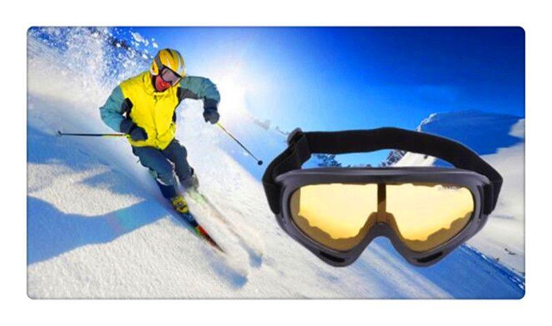 Marka SZQY X400 Çöl Fırtına Gözlük Taktik Göz Kaplı Güvenlik Kayak Gözlük Açık Spor Toz Geçirmez Sunglass Göz Gözlük