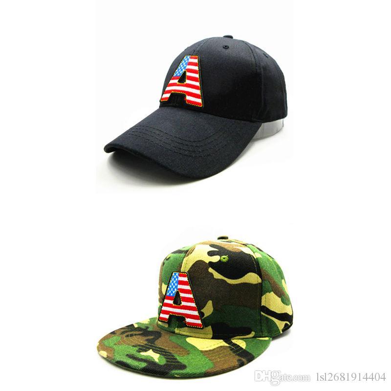 60cf4b8a5f5 LDSLYJR 2018 American Flag A Embroidery Cotton Baseball Cap Hip Hop Cap  Adjustable Snapback Hats For Kids And Adult Size 62 47 Brand Hats Vintage  Baseball ...