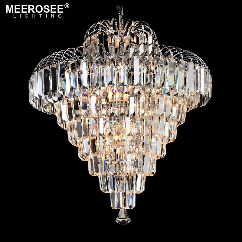Modern crystal chandeliers home lighting lustres de cristal decoration luxury candle hanging chandelier living room indoor lamp modern crystal chandeliers