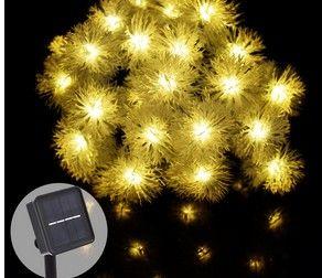 3M30LED Solar Lights Fairy lights outdoor solar power lights garden holiday decorations