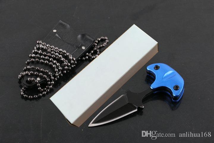 Новейший стиль холодной стали URBAN PAL 43LS маленький нож с фиксированным лезвием karambit карманный нож тактический нож с оболочкой K и ожерелье B283L
