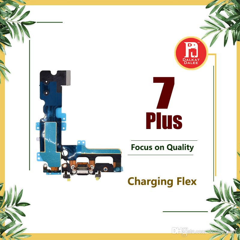 Charging Port Flex Cable For iPhone 7 Plus Charger Data USB Dock Connector with Headphone Audio Jack Mic Antenna Antena Wifi Cable