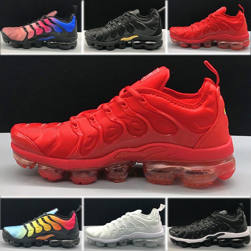 purchase cheap 056b0 6bdbb ... Nike Air Vapormax TN Plus Designer Sneaker Shoes Olive Women Womens  Sports Running Shoes Mujeres Zapatillas Metallic White Silver Colorful  Triple Black ...