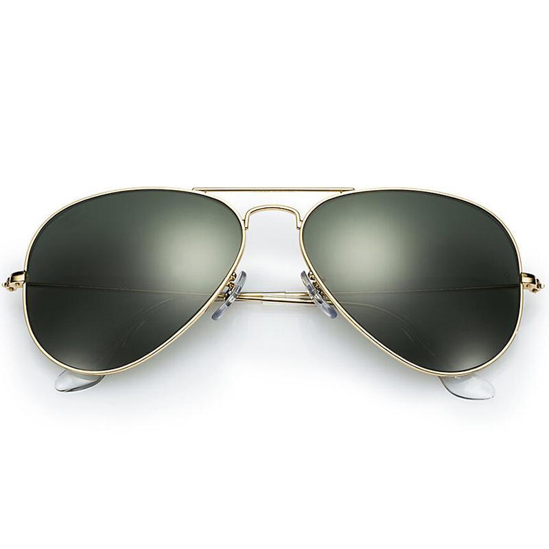 dafc6ac5a5e9 Top Quality Pilot G15 Glass Lens Designer Brand Sunglasses Women Men ...