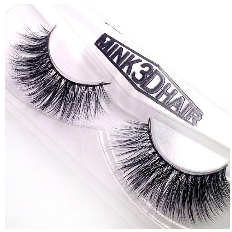 of Handmade Real Horse Hair Winged Thick Soft Eye Lashes Natural Long Messy Cross False Eyelashes For Make-up #SD-16