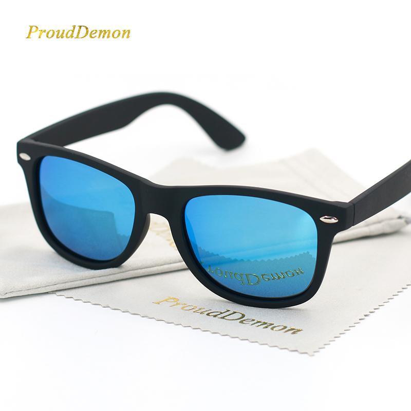 e194bbb654 Compre Hombres Clásicos Marco Negro Gafas De Sol Polarizadas Mujeres Espejos  De Conducción Puntos De Recubrimiento Gafas De Montura Negra Gafas De Sol  ...