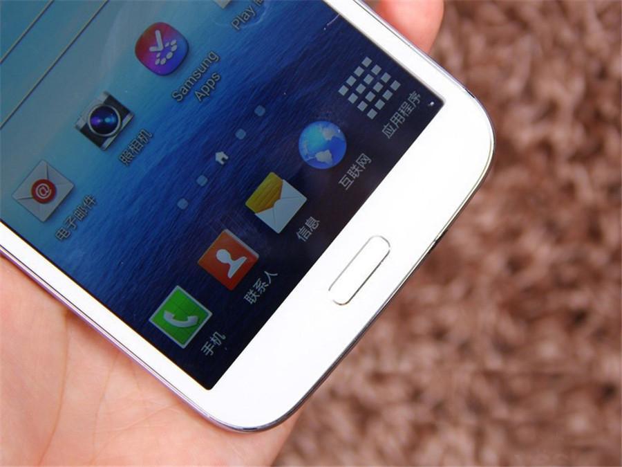 Refurbado original Samsung Galaxy Mega 5.8 i9152 Dual SIM de 5.8 pulgadas Dual Core 8GB ROM 8MP 3G Red Desbloqueado Android DHL