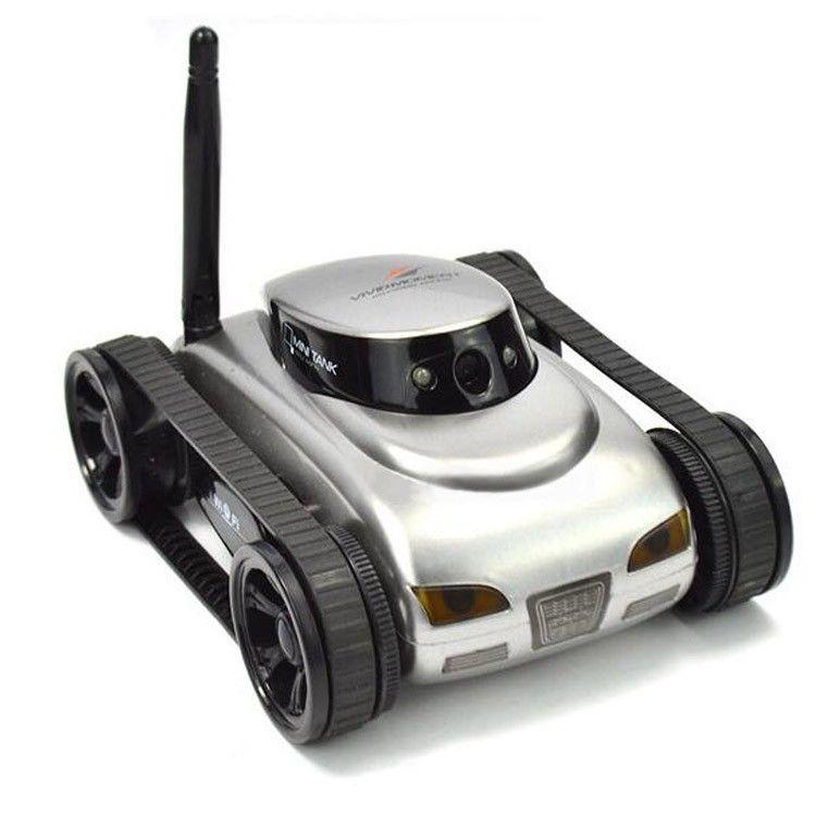 I-SPY Mini RC Panzer 0.3M HD Kamera Video Panzer Wifi Wireless Echtzeit iOS Android Fernbedienung iPhone Spielzeug für Kinder