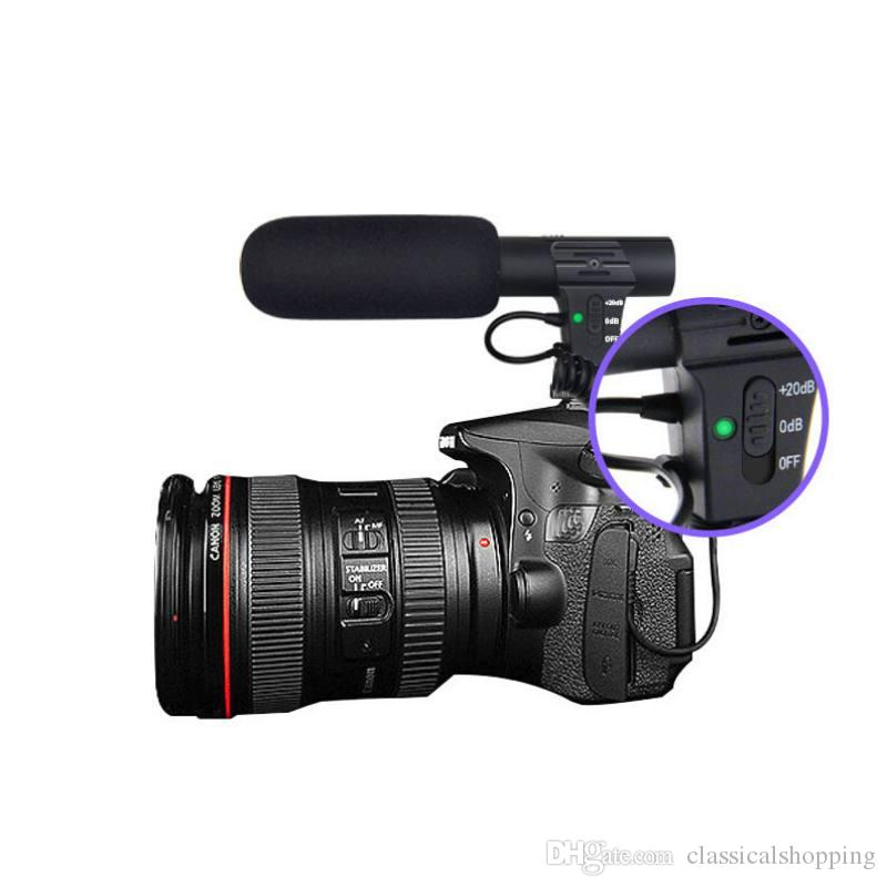 MIC-05 Stereo Camcorder Microphone for Nikon Canon DSLR Camera ... 6b18ec2a5