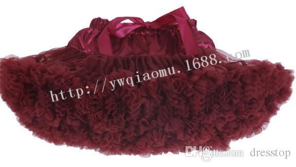 الفتيات التنانير الوردي الأحمر الأبيض الأميرة جميلة توتو تنورة 1-8y الاطفال الصيف تنورة الأطفال الحلوى لون قصيرة الفتيات تنورة