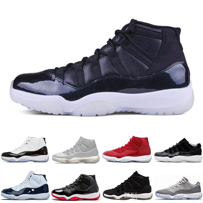 2018 Free 11s XI Space James 45 Midnight Navy Men Basketball Shoes Gym Red  Bred Cool Grey Mens Running Designer Sneakers Men Basketball Shoes Basket  Ball ... fb361f3c1