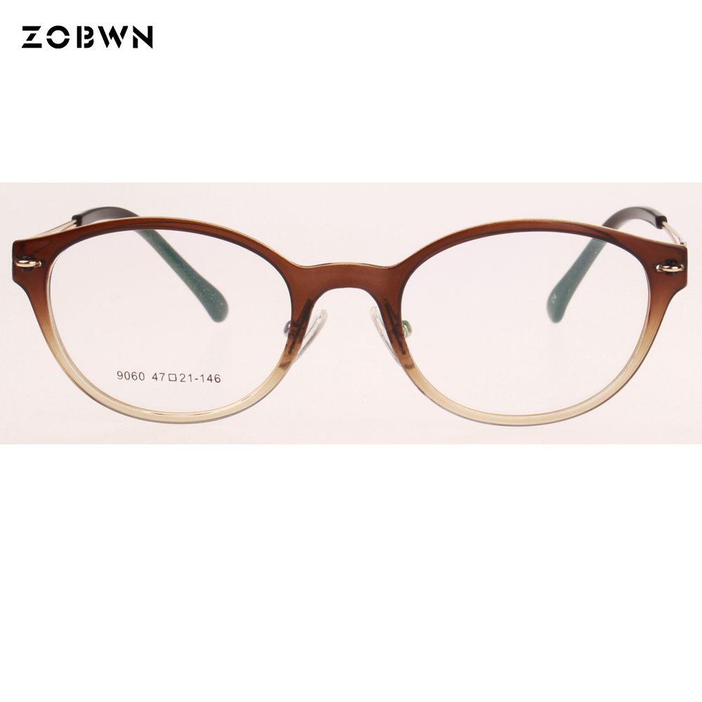 36f55a52c51 New Round glasses frames Women Vintage Brand Designer Eye Glasses optical  Frames armacao oculos de grau femininos eyewear