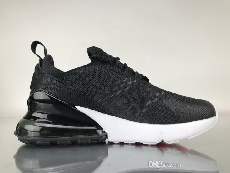 free shipping official 2018 Newest Top quality 27C Sneakers Mens Running Shoes Men 270 Triple Black Sport Boots Women Sport Shoes Sneakers footlocker finishline online online shop from china excellent cheap price outlet good selling wMOckOUzgf