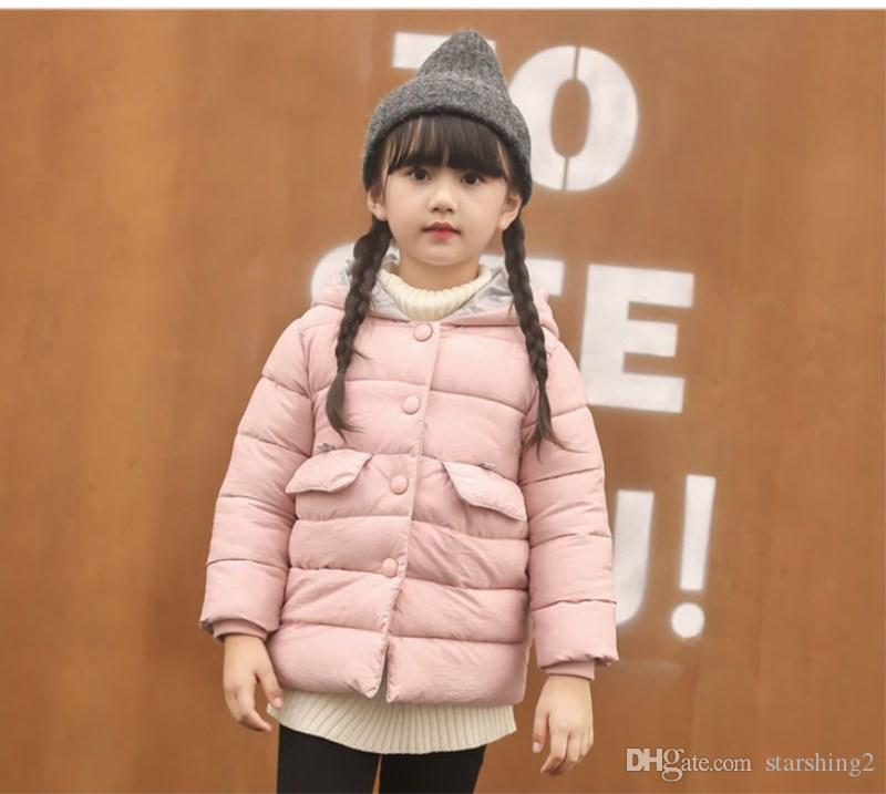 f54d841837c6 Children S Winter Jackets Toddlers Cotton Down Outerwear Girl ...