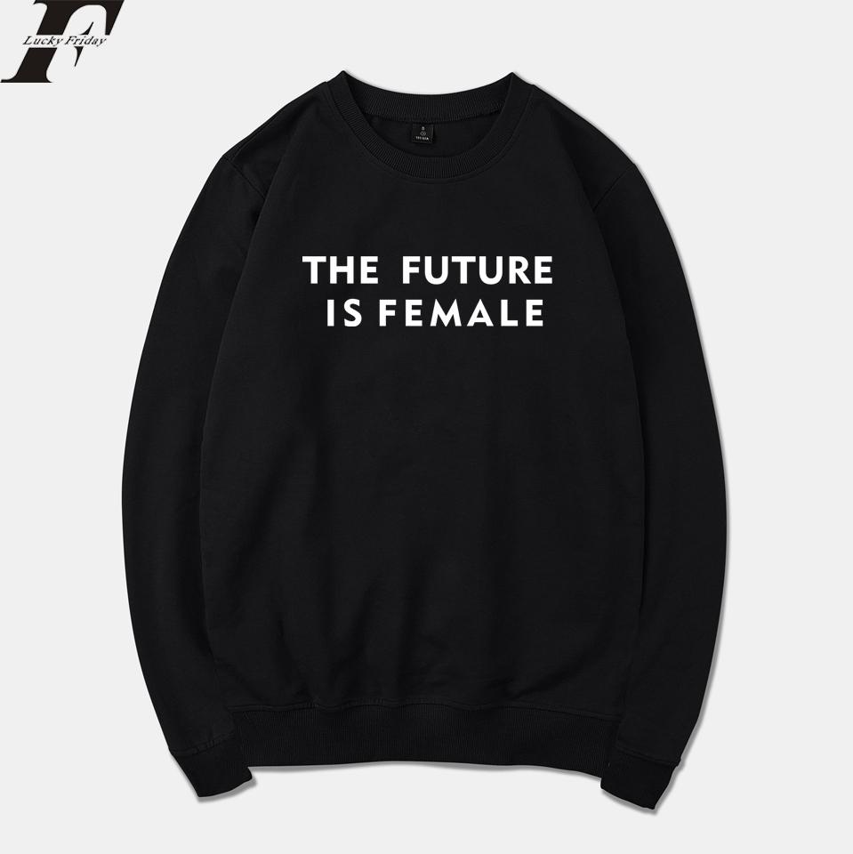 71c4f33e 2018 The Future is Female Spring Warm Hoodies Sweatshirt Men/Women Harajuku  Tracksuit Men Text Hoodie Plus Size