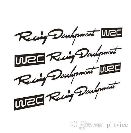 2019 122cm Wrc Rally Car Stickers Simon Handle Handle Reflective
