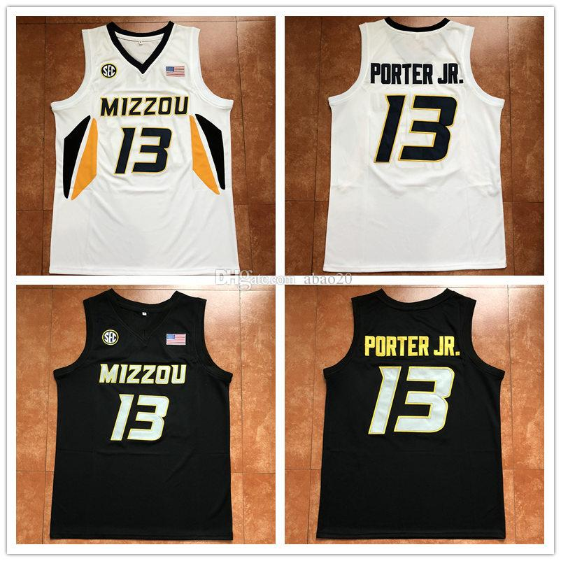sale retailer b6cbd a5052 #13 Michael Porter Jr Missouri Tigers Mizzou College Retro Basketball  Jersey Mens Embroidery Stitched Custom any Number and name Jerseys