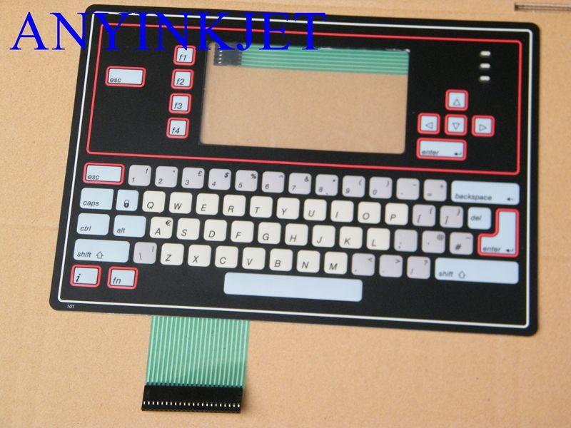 Для клавиатуры дисплея Willett для клавиатуры VB100-043S-101 для принтера Willett 43S 430 460 и т. Д. Черного цвета