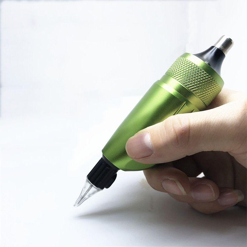 2018 New Professional Permanent Makeup Rocket Pen Rotary Tattoo Machine Gun  Liner Shader For Tattoo Artists Needle Cartridges